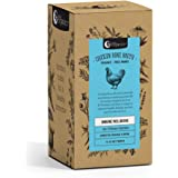 Nutra Organics Chicken Bone Broth Organic Homestyle Original Powder 7 Sachets Pack, 7 count
