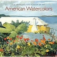 American Watercolors Museum Of Art Wall Calendar 2003