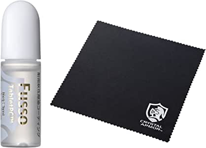 サンワダイレクト タブレット用 フッ素コーティング剤 指紋/皮脂/化粧汚れ防止 iPad 対応 操作性向上 5ml 200-CD016