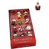 Kurt S. Adler Kurt Adler 1.25-Inch Petite Treasures Mini Ornament Set of 12, Multi, 12 Piece