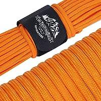 AmazingGear パラコード 30m テント ロープ 9芯 パラシュートコード 耐荷重250kg ガイロープ キャンプ サバイバル アウトドア用