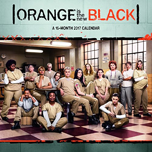 Orange Is the New Black 2017 Calendar