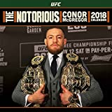 Conor McGregor カレンダー UFC 2018 The notorious Fighter 公式 30 x 30cm