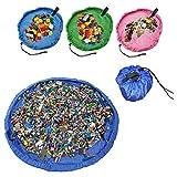 おもちゃ収納袋 玩具/レゴ/ブロックのお片づけ 直径150cm 収納マット お出かけに便利 多用途 お片付け簡単 超大防水