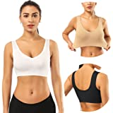 BESTENA Sports Bras for Women, Seamless Comfortable Yoga Bra with Removable Pads