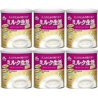 【6缶】大人のための粉ミルク ミルク生活プラス 300g