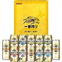 【お中元ギフト好適品】キリン9工場の一番搾り詰め合わせ 350ml×10本、500ml×2本 K-NJI3
