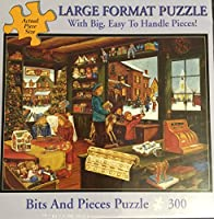 TheクリスマスショップBits and Pieces 300 Piece Puzzle H Hargrove