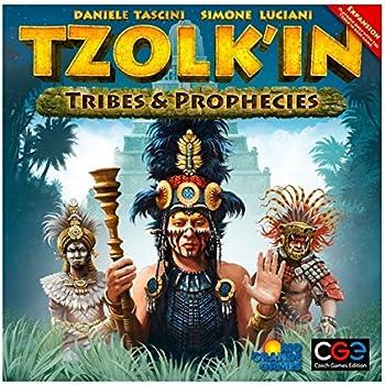 ツォルキン:マヤ神聖歴拡張セット 部族と予言 (Tzolk'in: The Mayan Calendar:Tribes and Prophecies) ボードゲーム