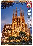 1000ピース ジグソーパズル Educa サグラダ・ファミリア スペイン Family Sagrada 48×68cm 17097
