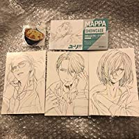 ユーリ!!! on ICE MAPPA SHOW CASE MAPPA展 ポストカード 勝生勇利 ヴィクトル ユーリ TVシリーズ一挙劇場上映 映画 劇場版 特典
