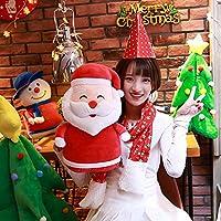 URAKUTOYS サンタクロース ぬいぐるみ 形 置物 クリスマス 雑貨 インテリア クリスマス プレゼントの 飾り Santa Claus (43cm)