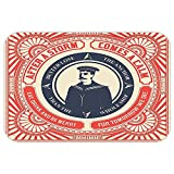 vroselvカスタムドアmatnautical Decorコレクションquoteafter A Storm Comea Calm andボランティアOfficer画像パターンネイビーレッドホワイト 24 X 40 inch MD-171215012301K61XG102