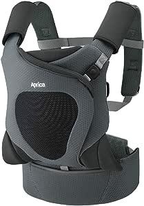 アップリカ 新生児から使える抱っこ紐 コアラ メッシュプラス AB Koala Mesh Plus AB カーキオリーブ 0か月~ 2085586