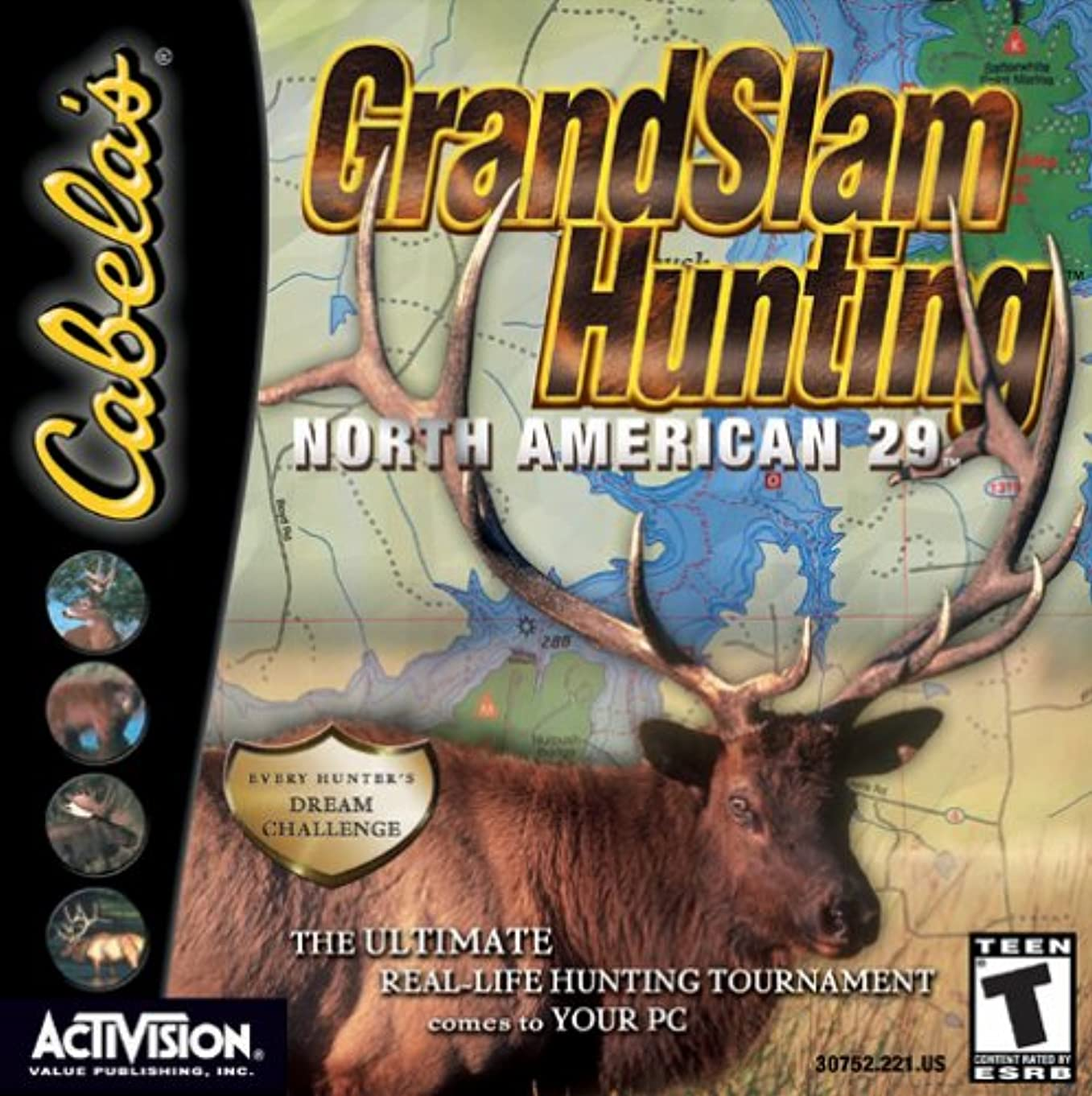 噛むスカート幽霊Cabela's Grand Slam Hunting: North American 29 (輸入版)