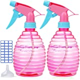 Spray Bottle For Hair - 3 Pack - 16 Oz Empty Spray Bottles Attractive Vibrant Colors - Multi Purpose USE Durable - BPA Free M