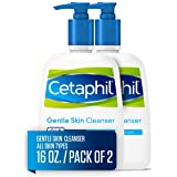 Cetaphil Gentle Skin Cleanser | 16 fl Oz (Pack of 2) | Hydrating Face Wash & Body Wash | Ideal for All skin types | Non-Irrit