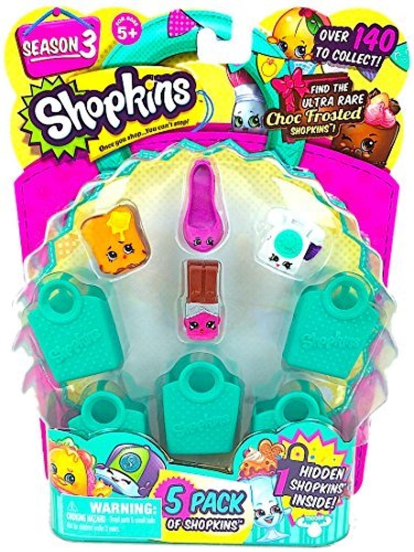Shopkins Season 3 (5 Pack) Set 3 by Moose Toys [並行輸入品]