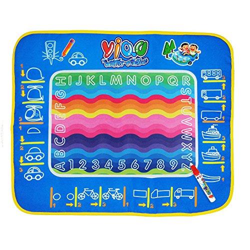 Cido 48 58CM 水の描画マット 落書き絵画魔法 ペン初期教育 インテリジェンスパズル 教育学習玩具