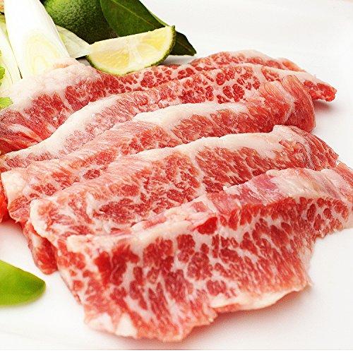 イベリコ豚専門店スエヒロ家 イベリコ豚 幻の 大トロ カルビ 焼肉 500g BBQ バーベキュー