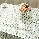 テーブルクロス 綿麻混 140×180cm 長方形 北欧