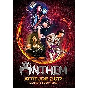 ANTHEM『ATTITUDE 2017 - Live and documents - 』【初回限定盤Blu-ray+2枚組CD(BURRN! 広瀬和生氏による日本語解説書封入)】