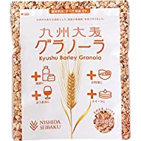 西田精麦 九州 大麦グラノーラ 2400g(200g×12) 九州産 大麦