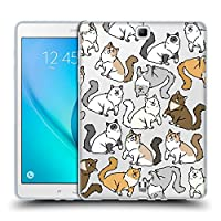 Head Case Designs ラグドール キャット・パターン Samsung Galaxy Tab A 9.7 専用ソフトジェルケース