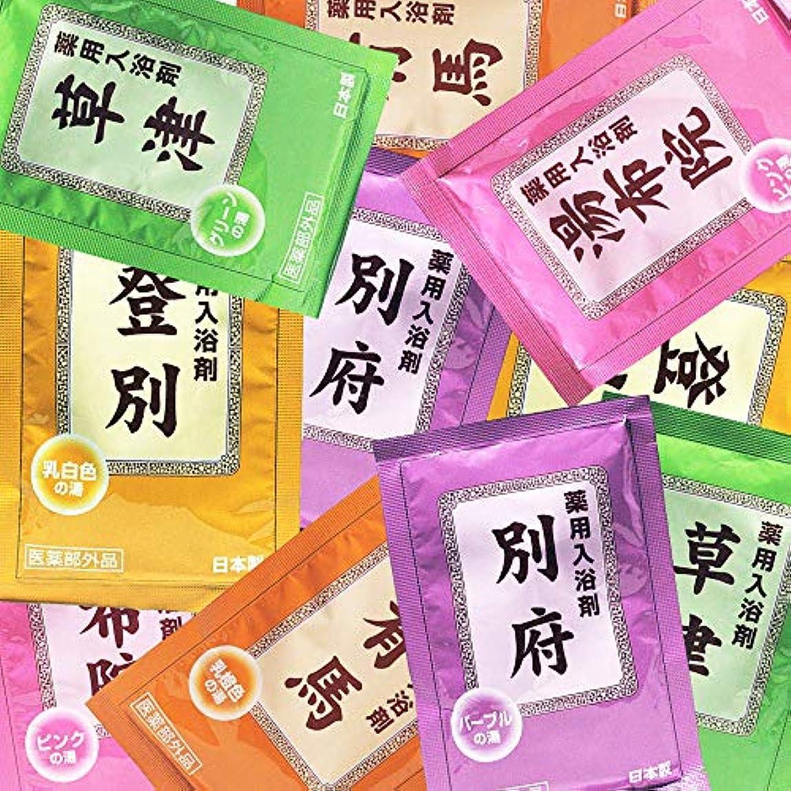 くちばしマイクロプロセッサ歌薬用入浴剤 湯宿めぐり 25g×10包