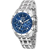SECTOR Men's R3273962001 Year-Round Chronograph Mechanical Silver Watch