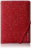 [コンサイス] スキミングブロック パスポートカバー皮革調R    13cm kg 293156 RD レッド