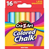 Cra-Z-Art Colored Chalk, 16 Count (10801-48)
