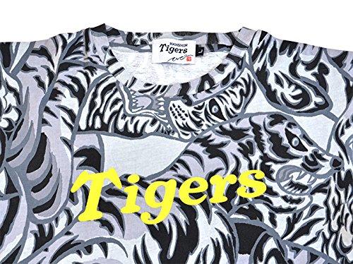 KI-YAN×阪神タイガース コラボ Tシャツ グレー Mサイズ