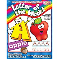 Scholastic TF-1432-A1 Letter of The Week! Resource Book [並行輸入品]