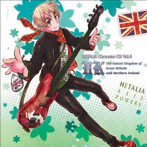 ヘタリア キャラクターCD Vol.4 イギリス / イギリス(杉山紀彰)