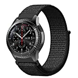 XIHAMA For スマートウォッチ Huawei Watch 2 Classic 編みナイロン 22MM バンド 替えベルト Amazfit pace Gear S3 Classic/Frontier H..