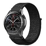 XIHAMA for スマートウォッチ Huawei Watch 2 Classic 編みナイロン 22MM バンド 替えベルト Amazfit pace Gear S3 Classic/F..