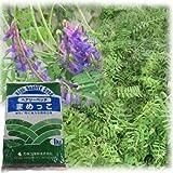 [タネ]ヘアリーベッチ まめっこ 1kg入り[緑肥・景観作物 約300平米分 秋・春まき] ノーブランド品