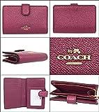 [コーチ] COACH 財布 (二つ折り財布) F23256 メタリックチェリー レザー 二つ折り財布 レディース [アウトレット品] [並行輸入品]