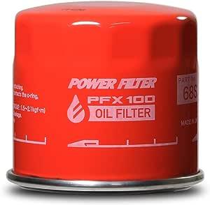 MONSTER SPORT オイルフィルター【POWERFILTER PFX100】 FDA-68 φ68×50 3/4・16UNF ダイハツ 他用