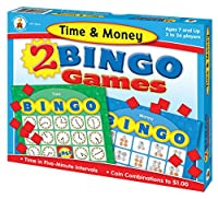 Time and Money Bingo