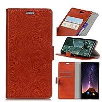 LG X Power 3 レザーケース、MrStar 高級PUレザー ケースLG X Power 3 ケースカバー手帳型 財布型LG X Power 3 ケース(Light Brown)