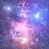 aofoto 8?x 8ftファンタジーNebulaバックドロップDreamlike Galaxy Starry写真背景抽象Universe SpaceグランジNight Sky Science Fiction大人用Artistic Portrait Photo Studio Props壁紙