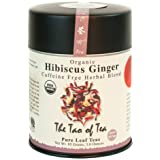 (1) - The Tao of Tea, Hibiscus Ginger Tea, Loose Leaf, 90ml Tin