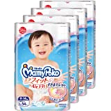 MamyPoko Air Fit Tape, L, 54 Count, (Pack of 4)