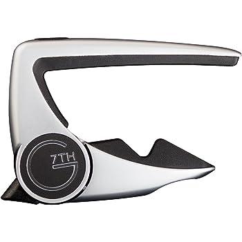 【正規輸入品】 G7TH PERFORMANCE 2 CAPO 6弦フォーク用 SILVER(シルバー)  カポタスト