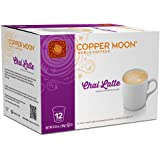 Copper Moon Latte Single Serve Pods for Keurig 2.0 K-Cup Brewers, Chai Latte, Barista Inspired Sweet Creamy Latte with The Ta