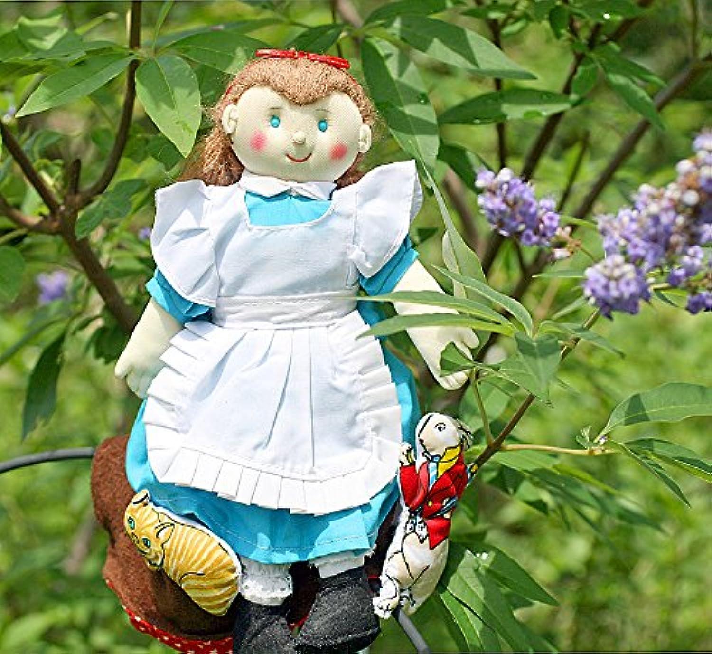 布絵本 布人形 フリップオーバードール アリス お話の世界