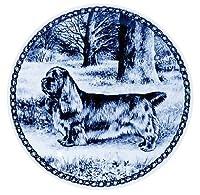 デンマーク製 ドッグ・プレート (犬の絵皿) 直輸入! Sussex Spaniel / サセックス・スパニエル
