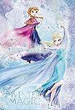 300ピース ジグソーパズル アナと雪の女王 Icy Blast【パズルデコレーション】(26x38cm)